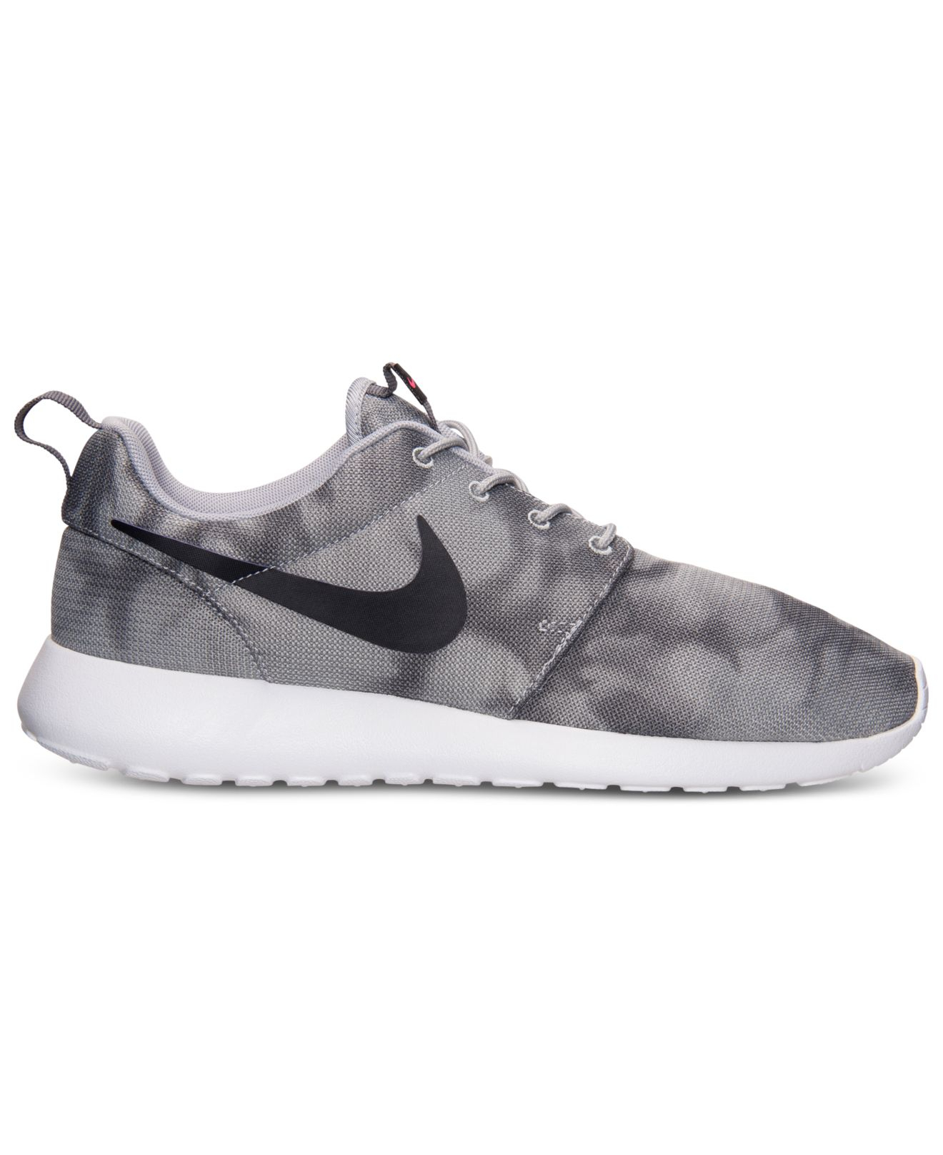 Nike Men'S Roshe Run Print Casual Sneakers From Finish ...