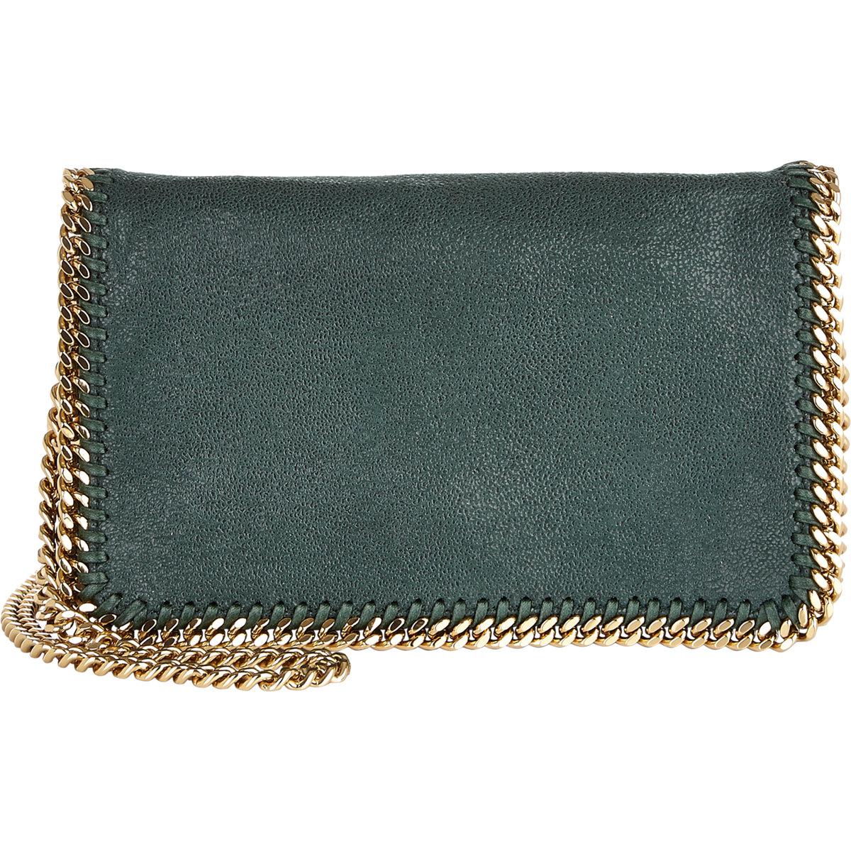 586e7f399c Gallery. Previously sold at  Barneys New York · Women s Stella Mccartney  Falabella Women s Velvet Shoulder Bags ...