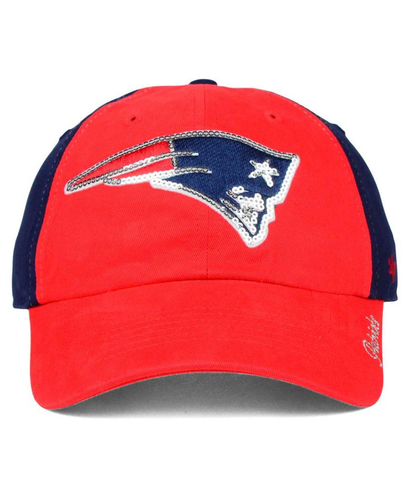 902eba47a28 Lyst - 47 Brand Women s New England Patriots Sparkle 2-tone ...