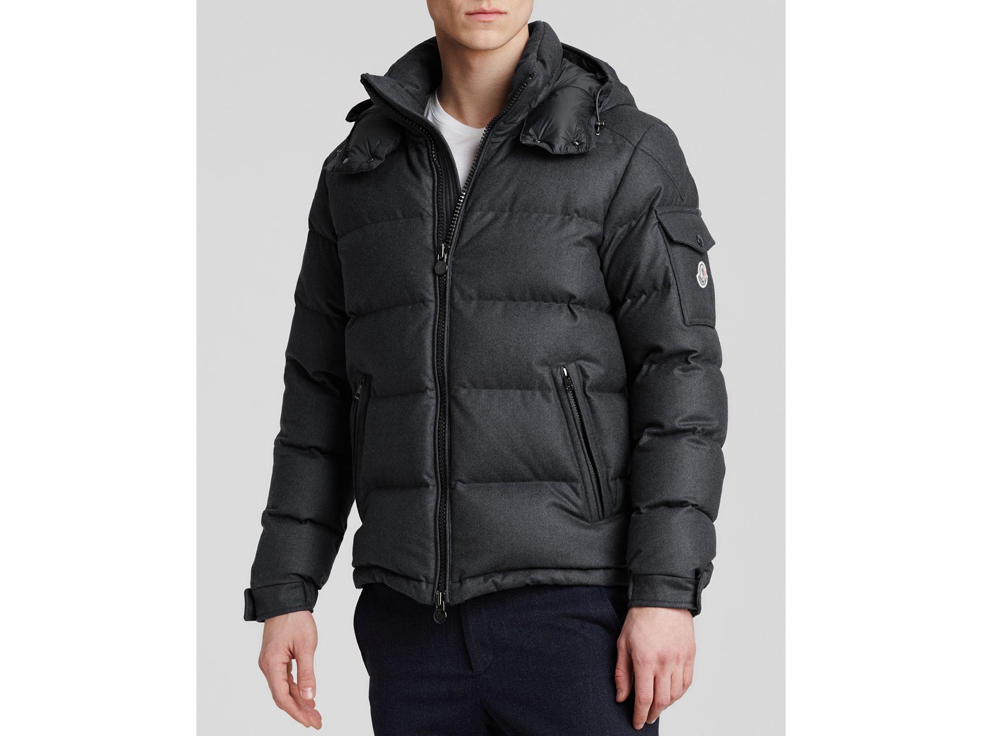 Lyst - Moncler Montgenevre Down Jacket in Gray