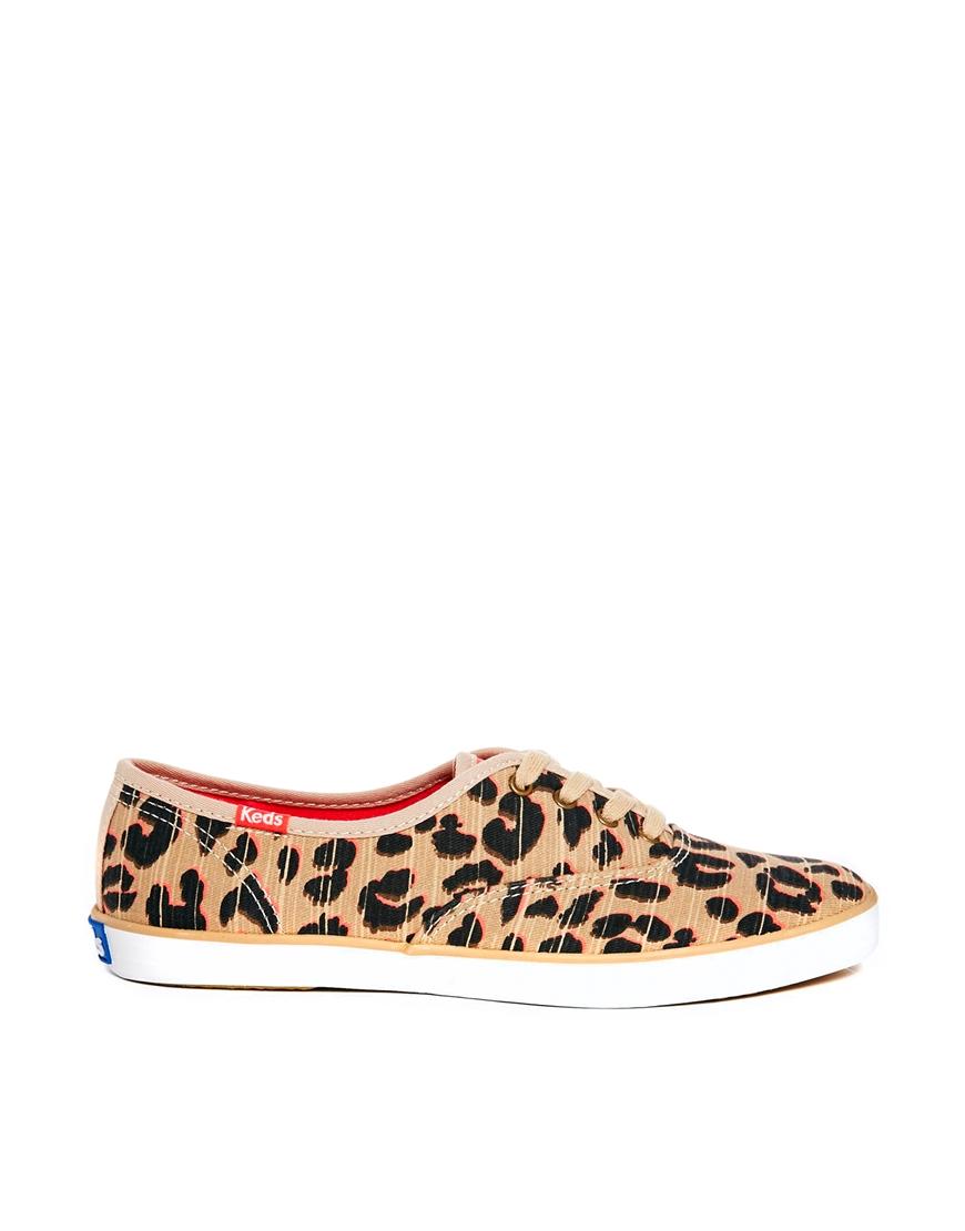 champion leopard keds shoes