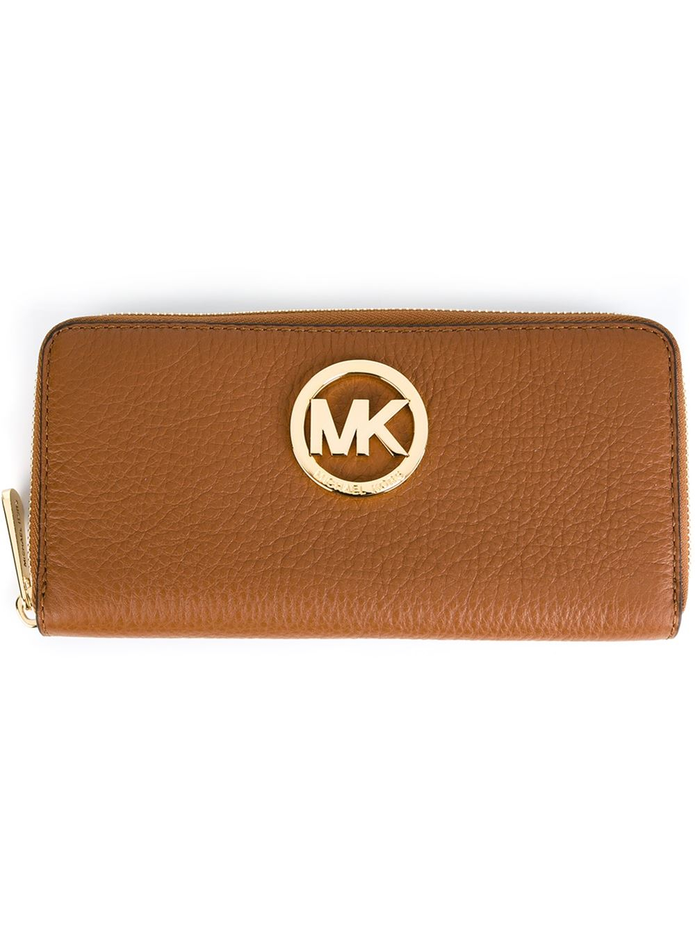 Michael Michael Kors Fulton Wallet In Brown Lyst
