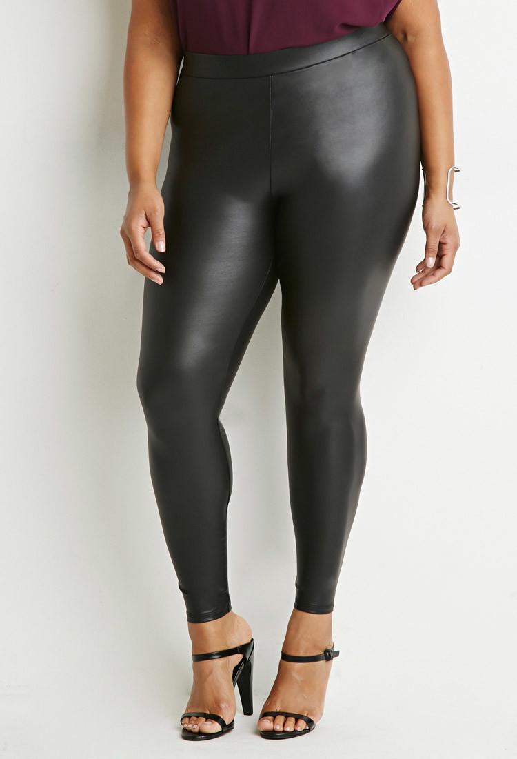 Cool Women39s Black Leather Pants Women39s Faux Leather Pants Women39s Le