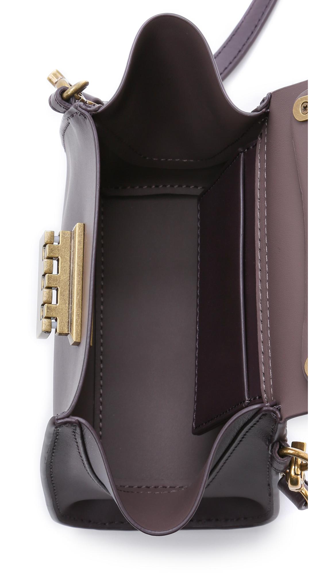 Lyst Zac Zac Posen Eartha Top Handle Mini Cross Body Bag
