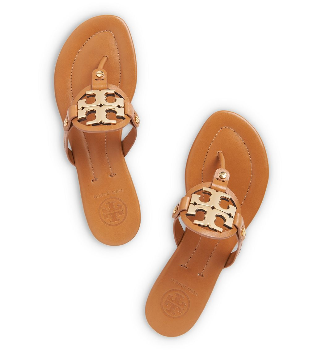 4442d6268 Lyst - Tory Burch Miller 2 Sandal in Brown