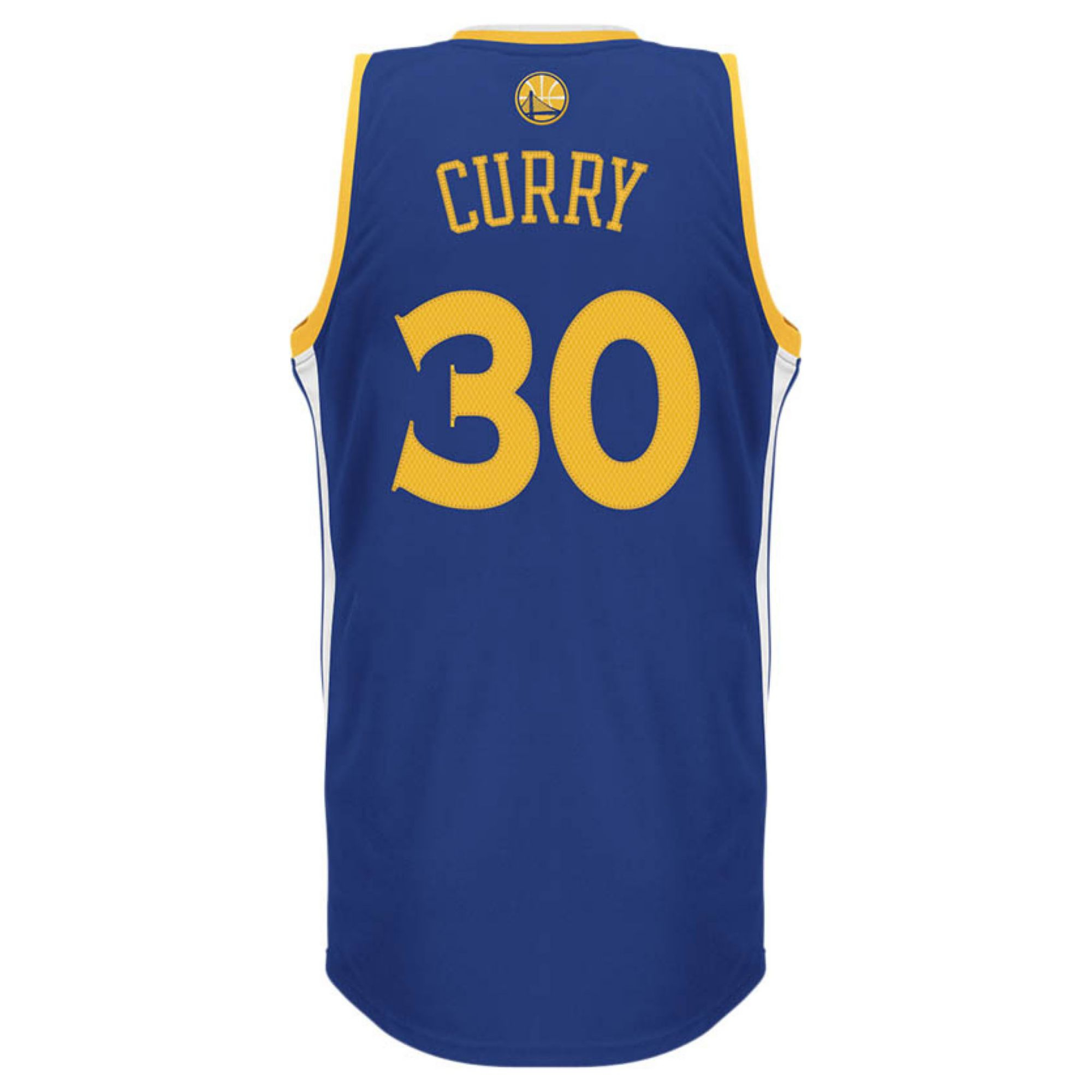 reputable site bf219 02991 Blue Mens Golden State Warriors Stephen Curry Jersey
