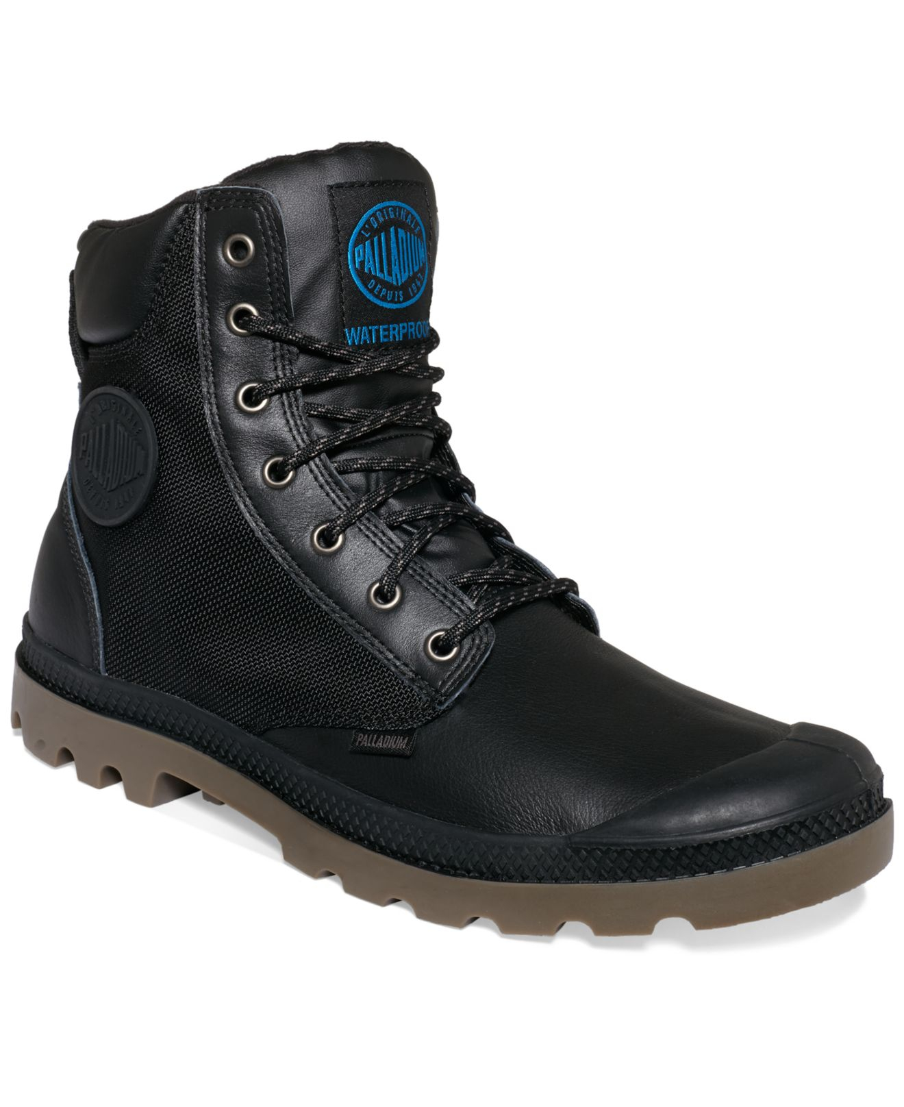 Palladium Pampa Sport Cuff Wp2 Boots in Black for Men | Lyst