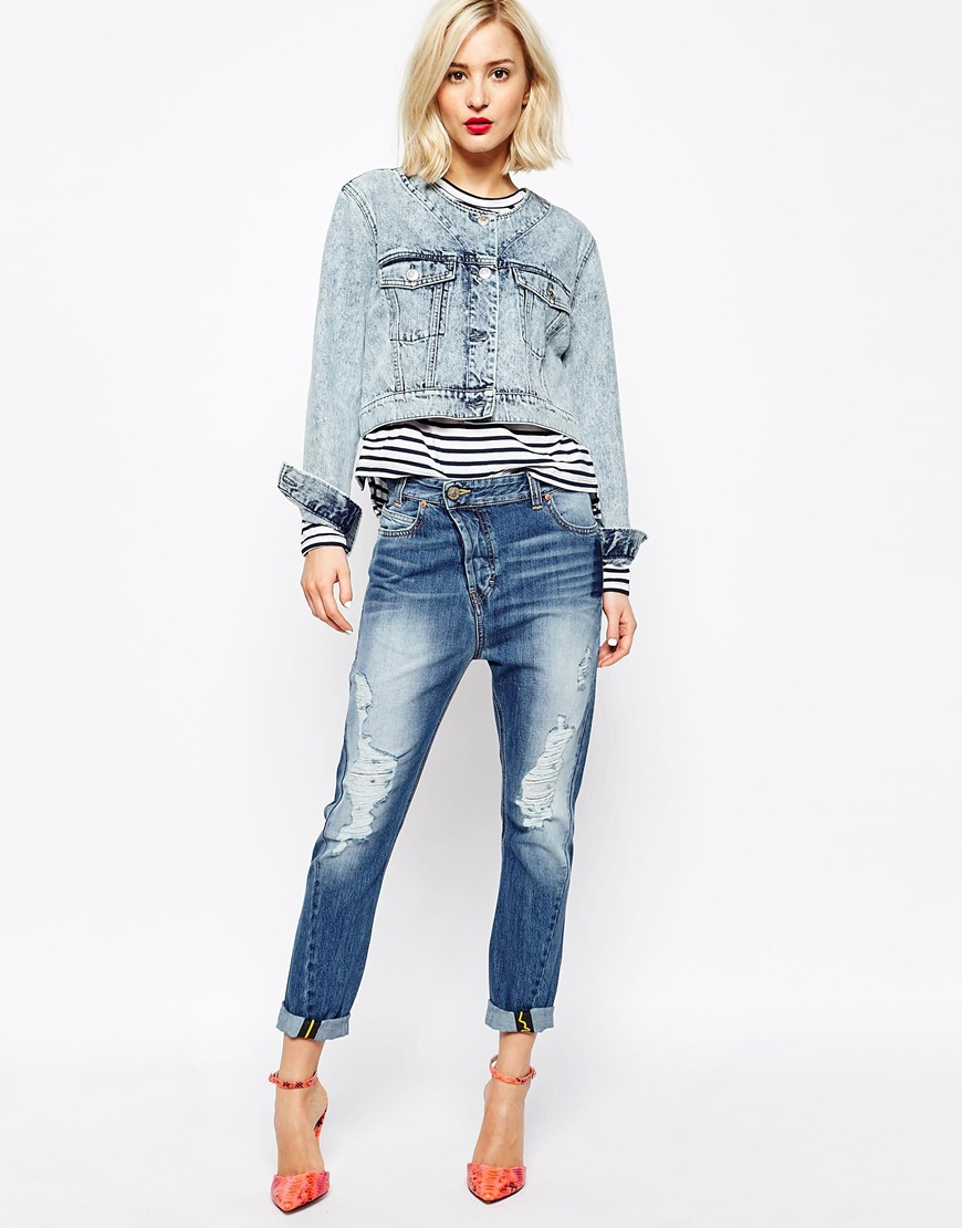 Vivienne westwood Anglomania Jeans Boyfriend Jeans With ...