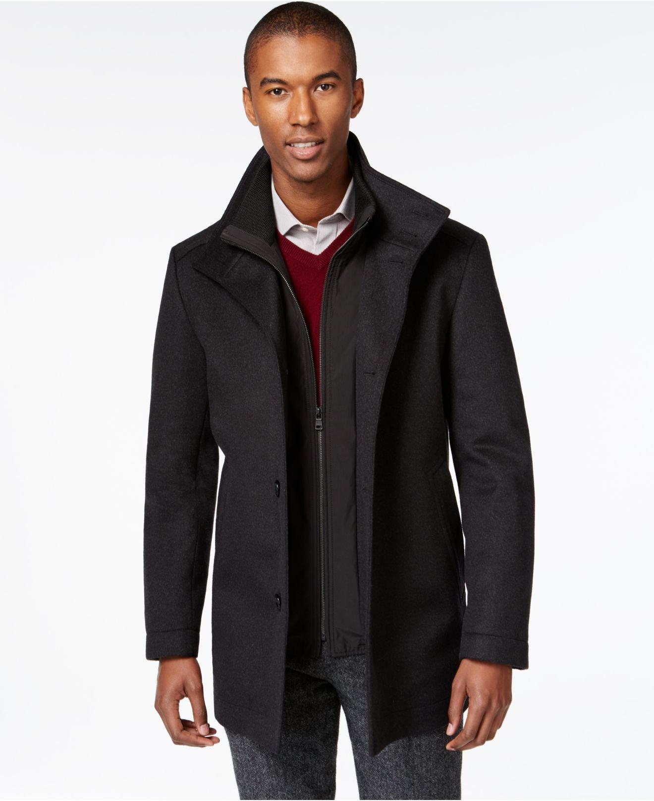 saks fifth avenue hugo boss mens winter coats. Black Bedroom Furniture Sets. Home Design Ideas