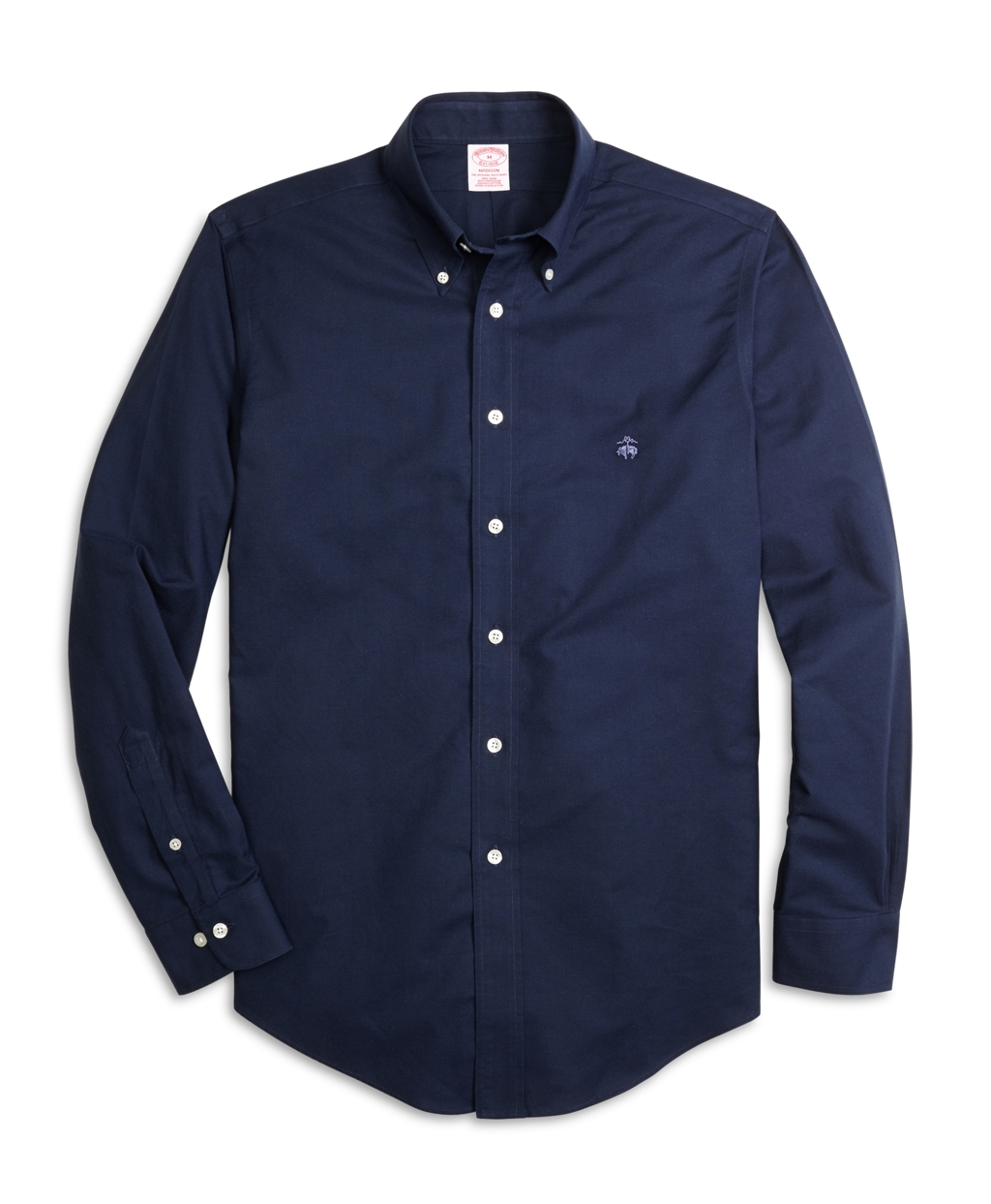 Brooks brothers non iron milano fit oxford sport shirt in for Brooks brothers sports shirts