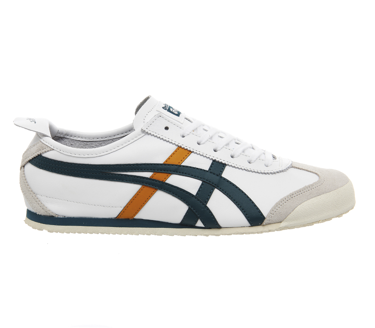 onitsuka tiger mexico 66 in white lyst. Black Bedroom Furniture Sets. Home Design Ideas