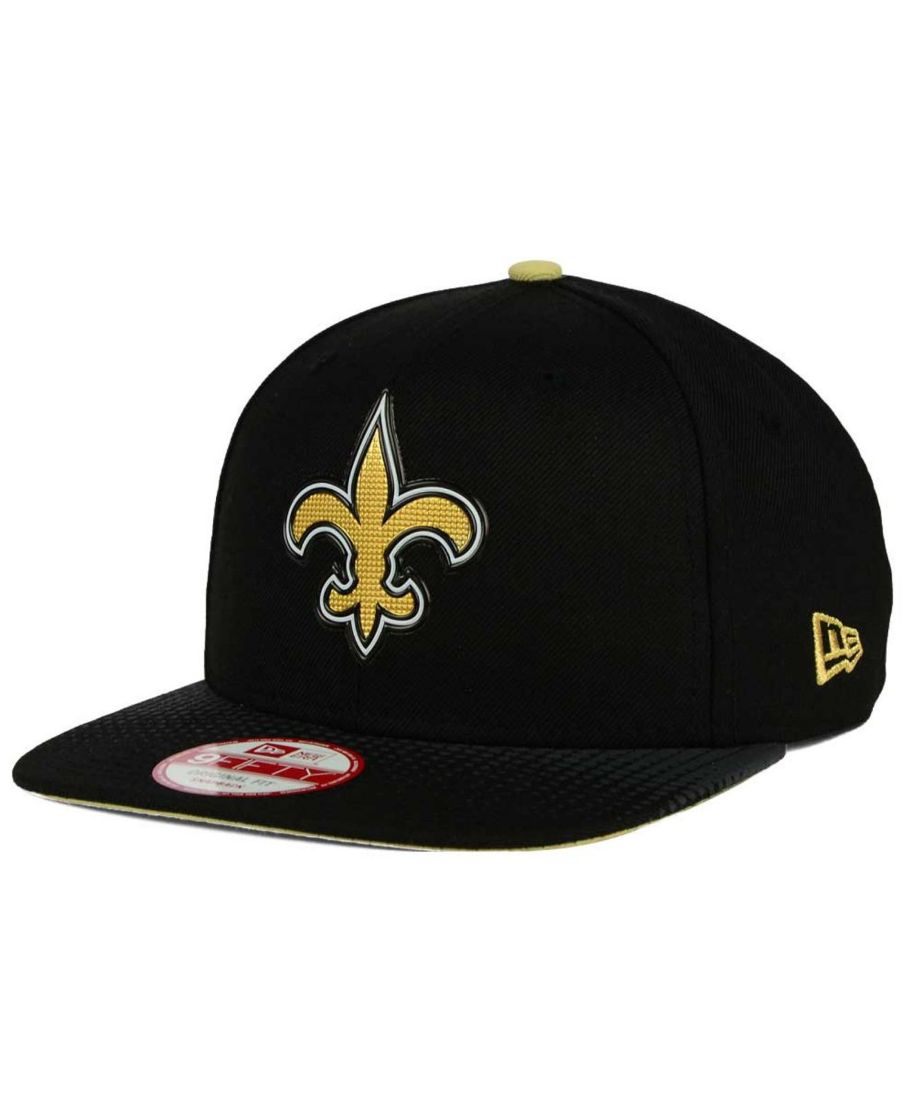 sports shoes 61928 6c702 Lyst - KTZ New Orleans Saints Draft Redux 9fifty Snapback Cap in ...