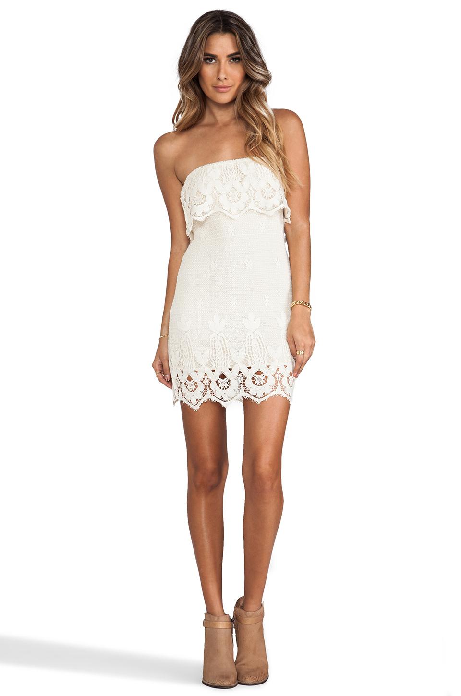 Lyst Jen S Pirate Booty Cha Cha Mini Dress In White