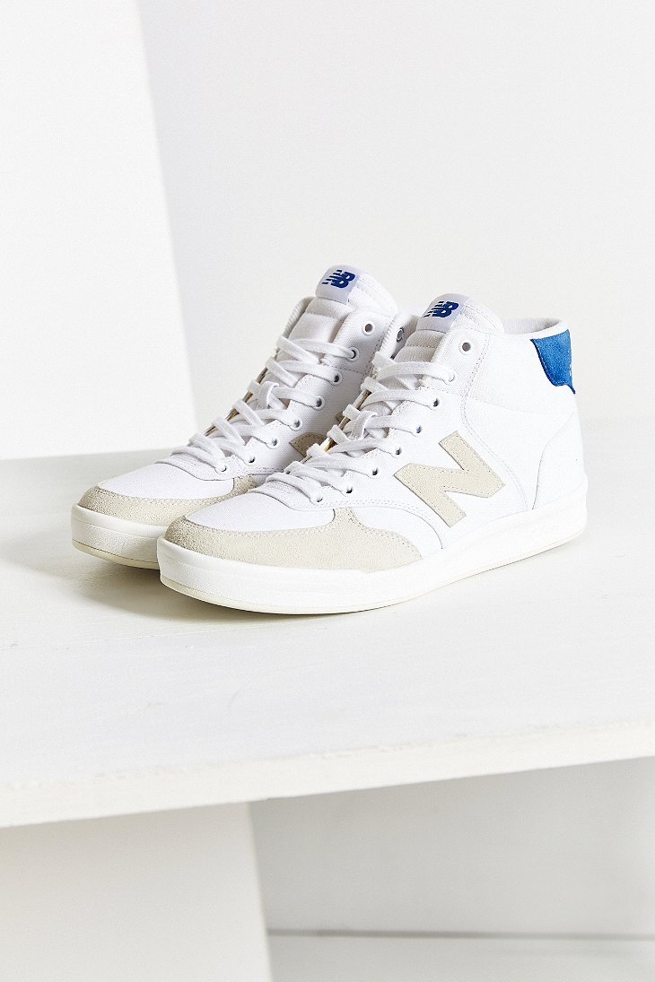 New Balance X Uo Mid Court 300 Sneaker in White - Lyst