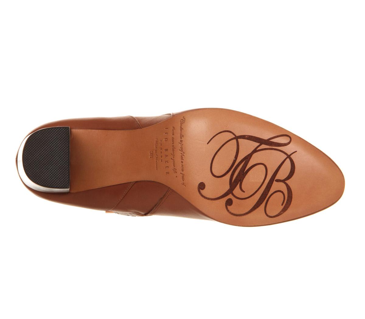 Ted Baker Micka High Heel Boot in Tan (Brown)