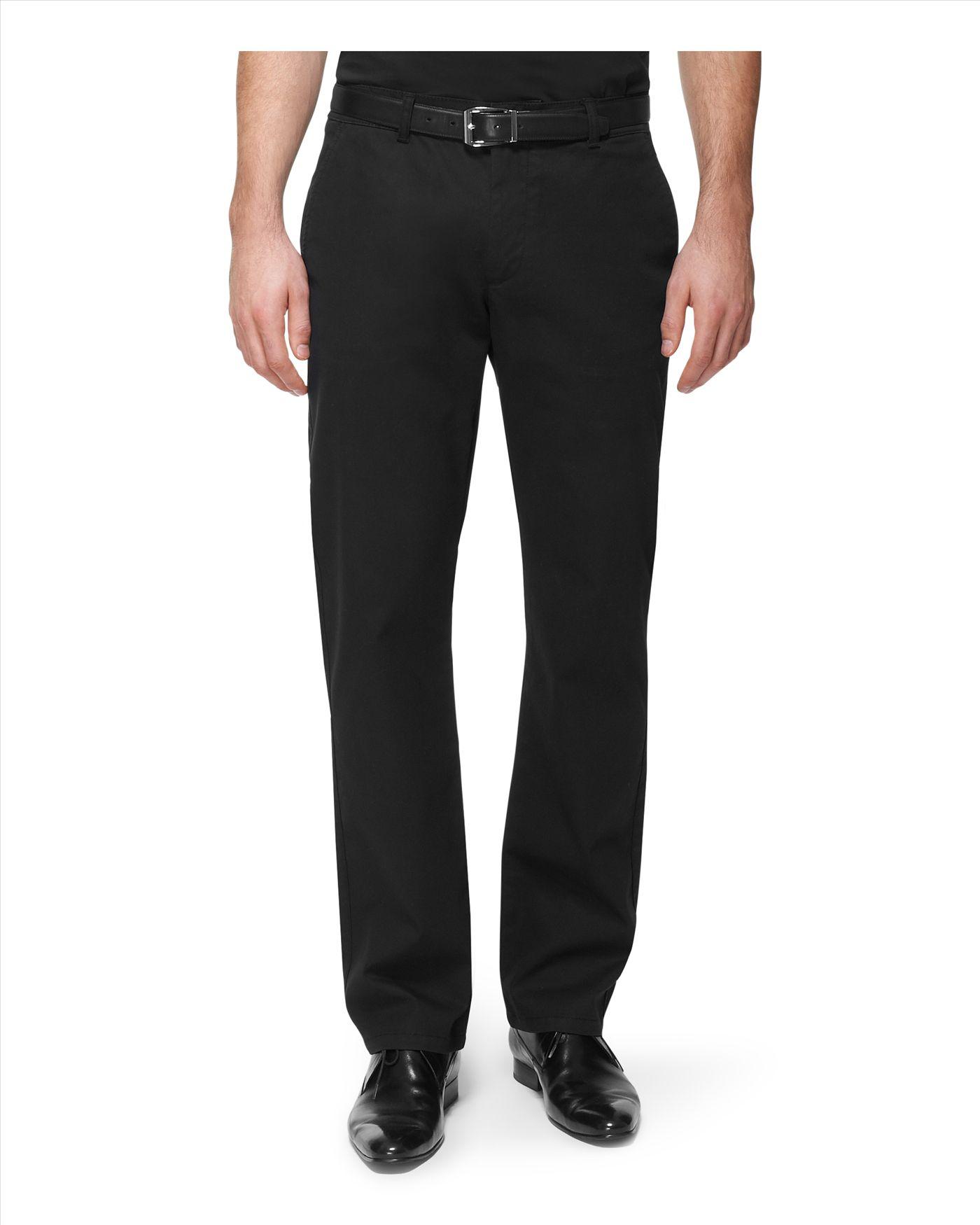 Jaeger Classic Berwick Chino in Black for Men