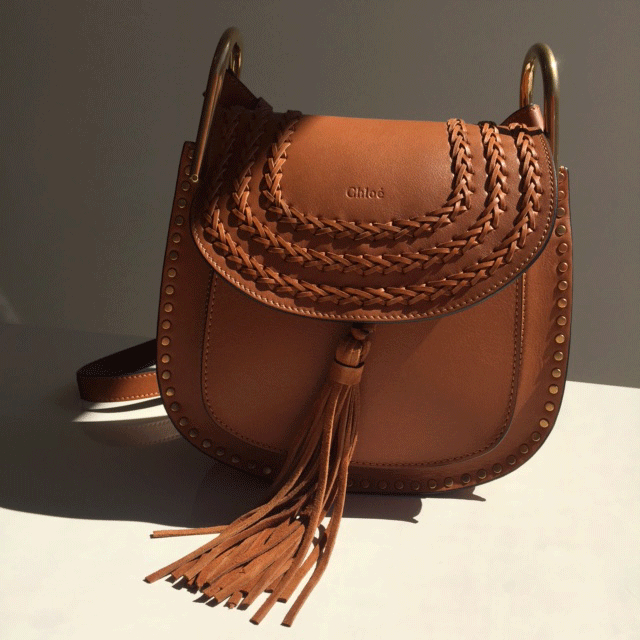 clhoe bag - Chlo�� Small Hudson Shoulder Bag in Brown | Lyst