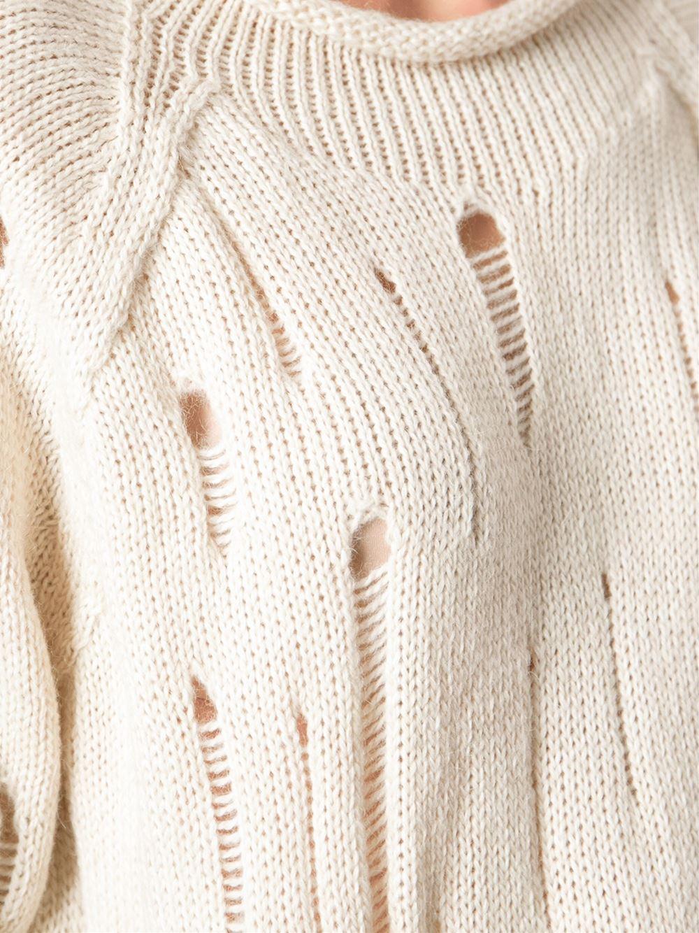Gat Rimon 'Doonie' Sweater in Natural