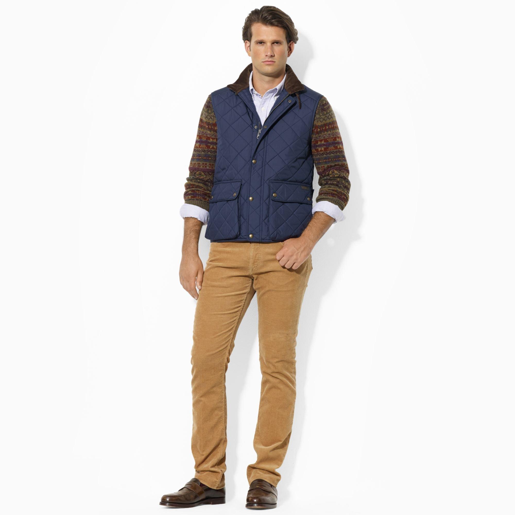 Polo Blue Epson Men Lauren Quilted Ralph Vest For bfgY7I6yvm