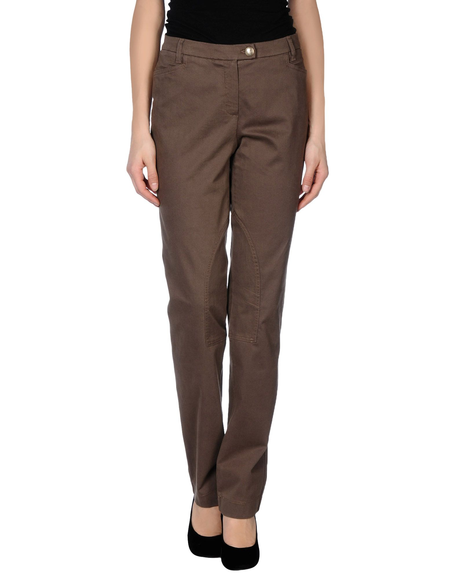 Beautiful Women39s Brown Capri Pants Size 2XL Cargo Khaki Capri Slacks With Belt