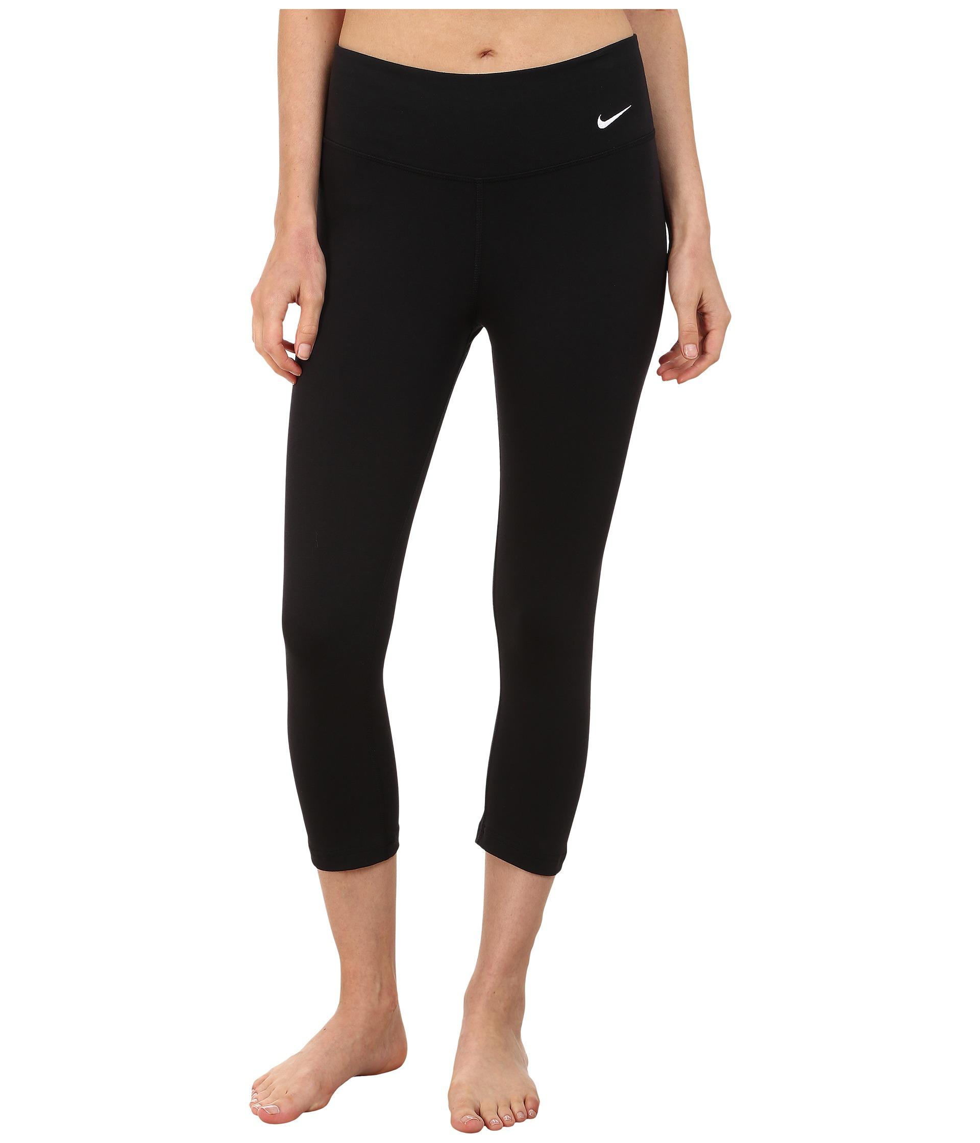 Nike Legend 2.0 Tight Dri-fit™ Cotton Capri in Black | Lyst