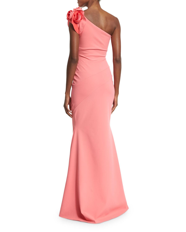 d3cf5fb67b4dff La Petite Robe Di Chiara Boni Enrica One-shoulder Column Gown in ...