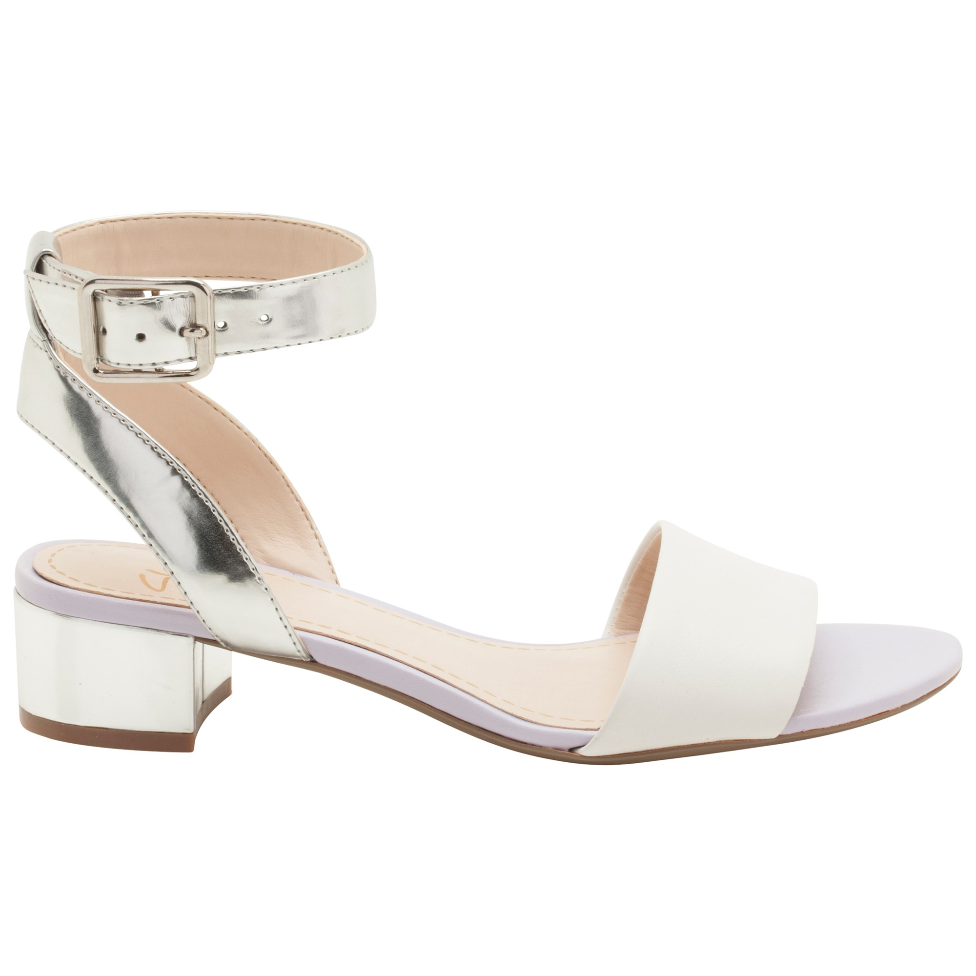 0bc99862b Clarks Sharna Balcony Sandals in White - Lyst