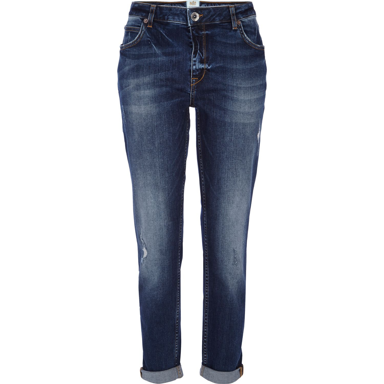 Destroyed Womens Jeans