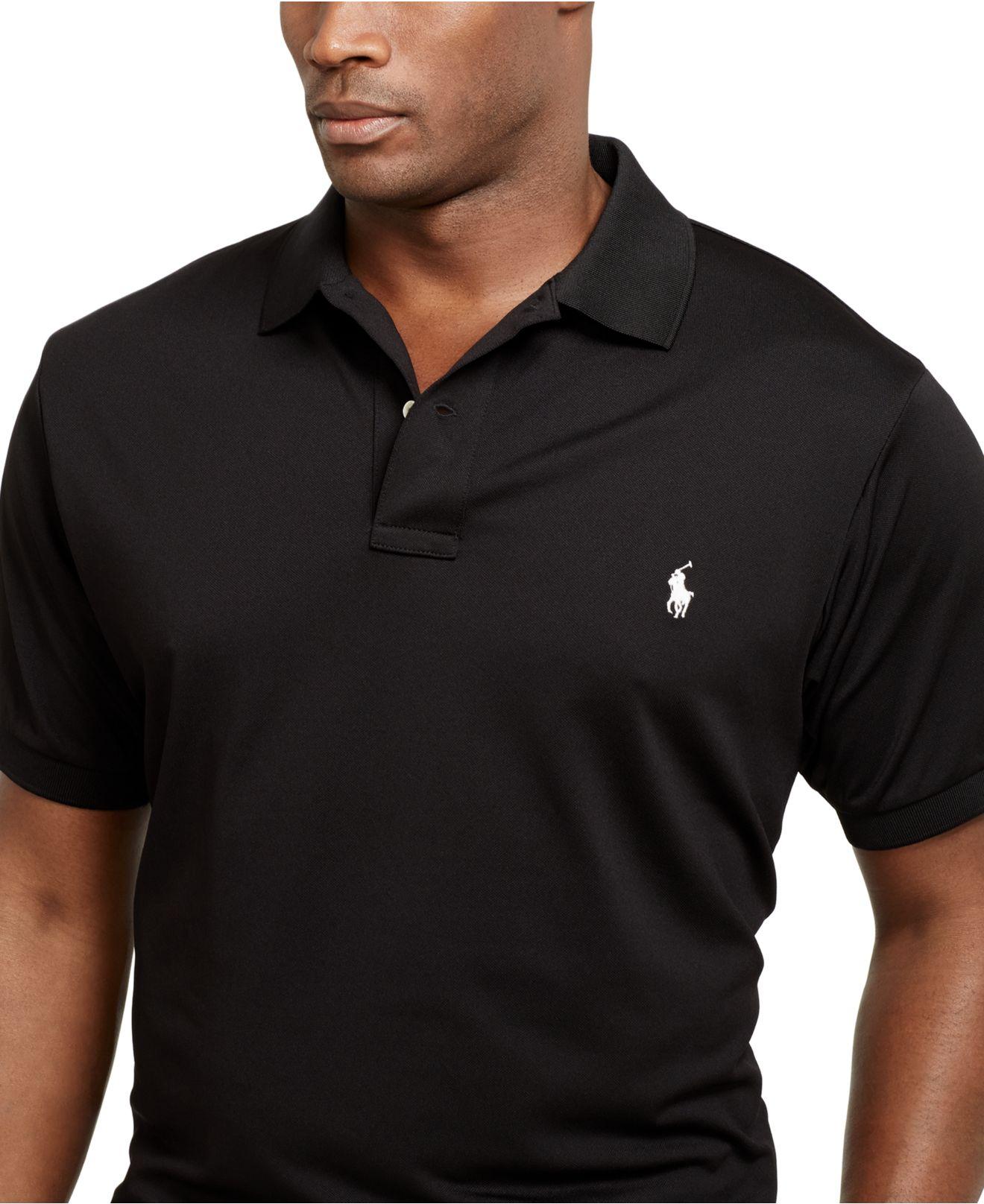 Big And Tall Performance Mesh Polo Shirt