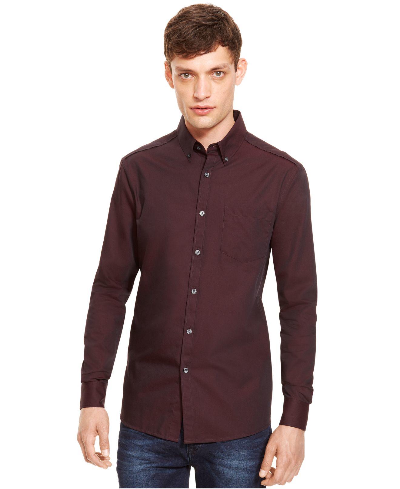 Watch more like Purple Button Down Shirt Men
