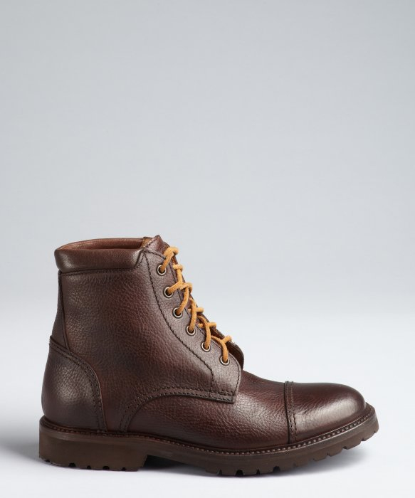 Brunello Cucinelli Leather Round-Toe Boots store cheap online cheap sale recommend cheap sale low price outlet footlocker finishline sneakernews cheap online mNhdhcYAd