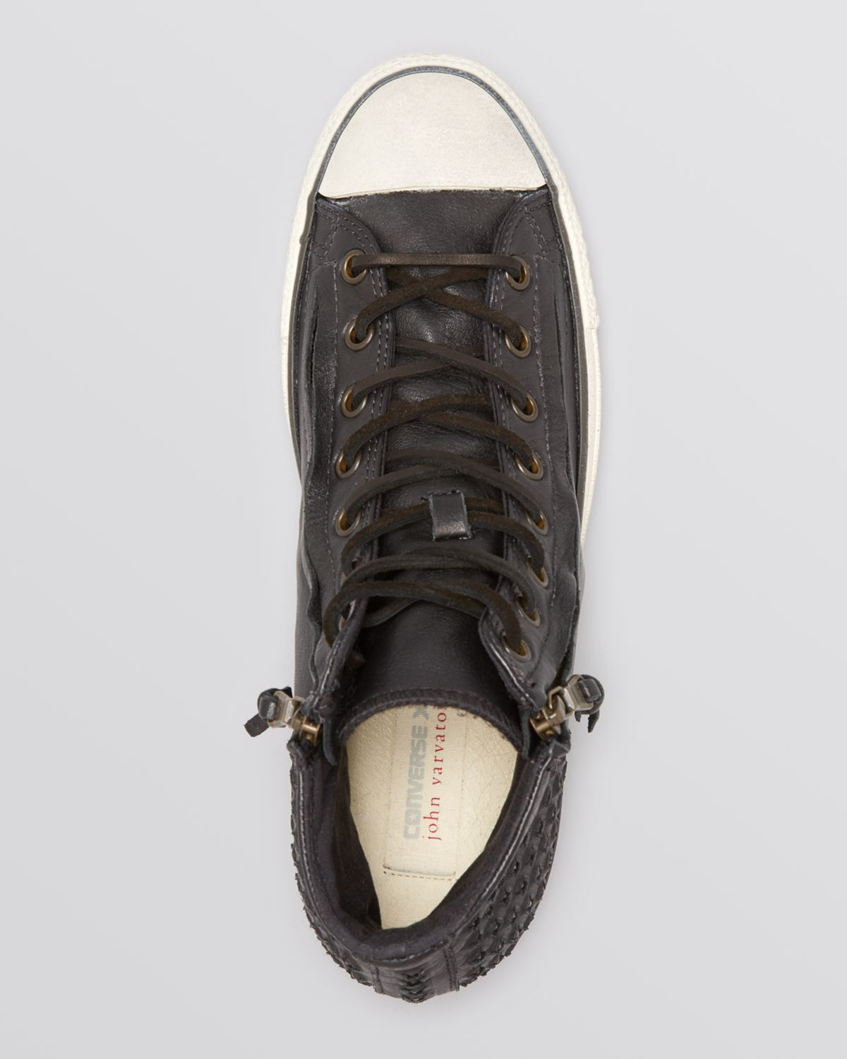 Converse Chuck Taylor All Star Double Zip High Top Sneakers in ...