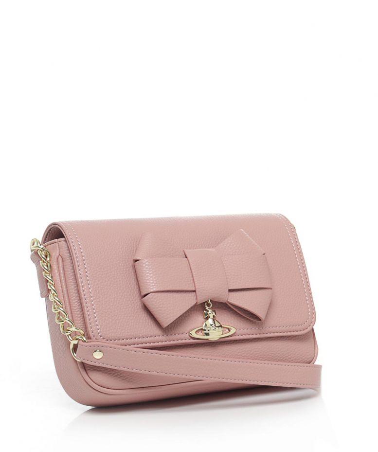 622fbe37f952 Lyst - Vivienne Westwood Bow Shoulder Bag in Pink