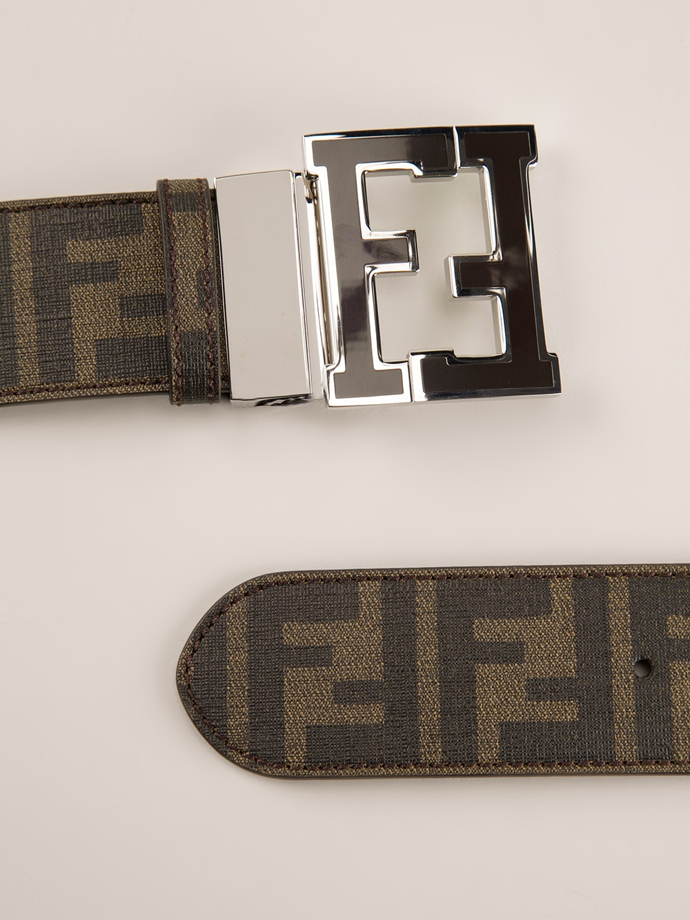 ffdcc544 coupon for fendi zucca belt blue price f3c47 3c256