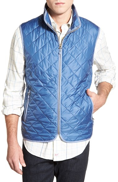 Lyst Vineyard Vines Chilmark Diamond Quilted Full Zip