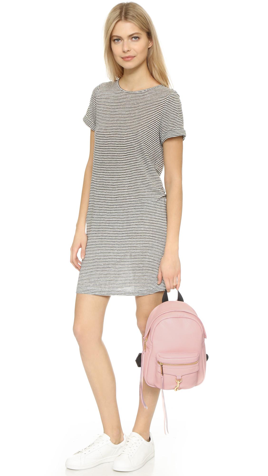 Rebecca minkoff Mini Mab Backpack in Pink   Lyst