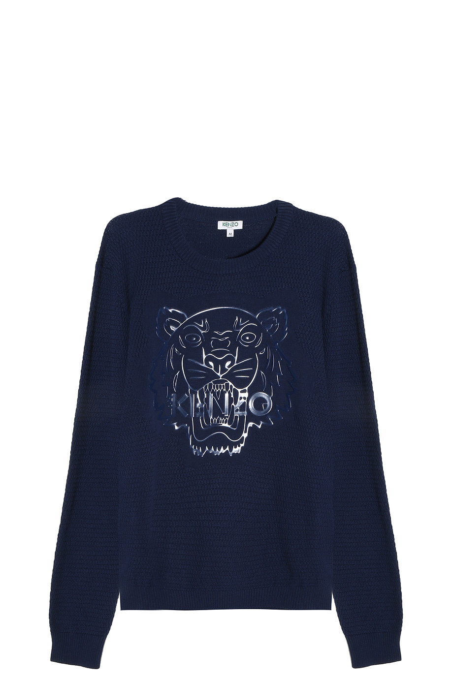 kenzo iconic tiger sweater in blue for men lyst. Black Bedroom Furniture Sets. Home Design Ideas