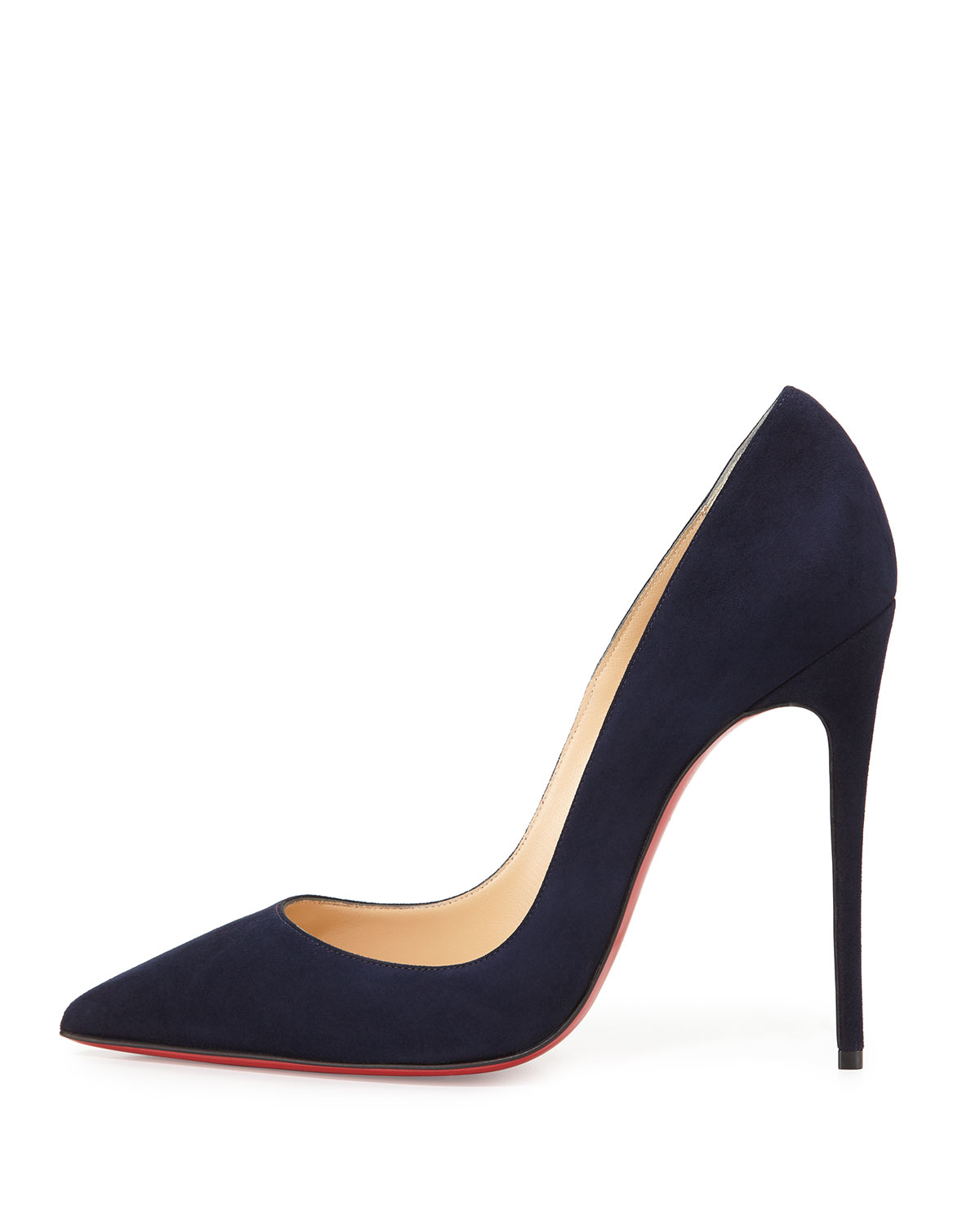 10625441251b Lyst - Christian Louboutin So Kate Suede Pumps in Blue
