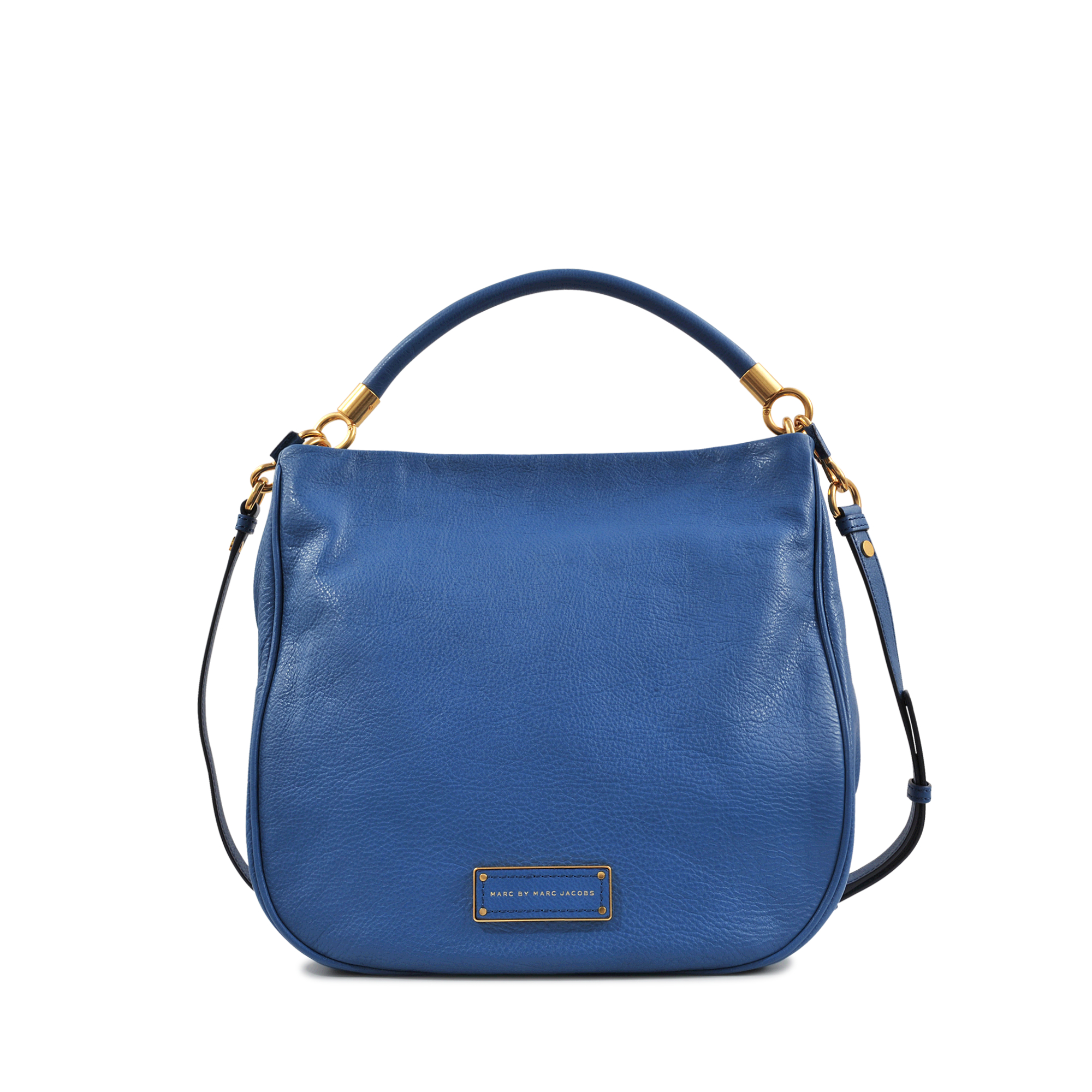 marc by marc jacobs hobo too hot to handle bag in blue lyst. Black Bedroom Furniture Sets. Home Design Ideas