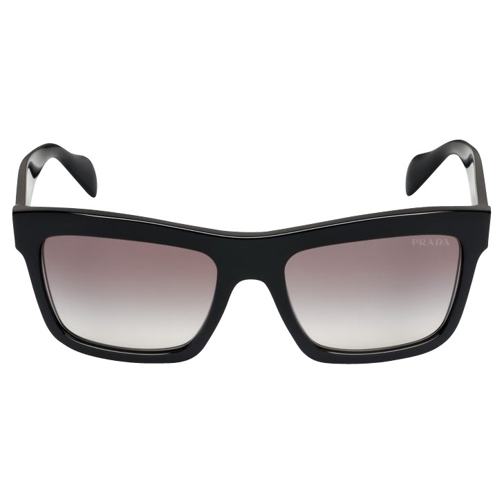 Prada Pr25qs D-frame Sunglasses in Black - Lyst