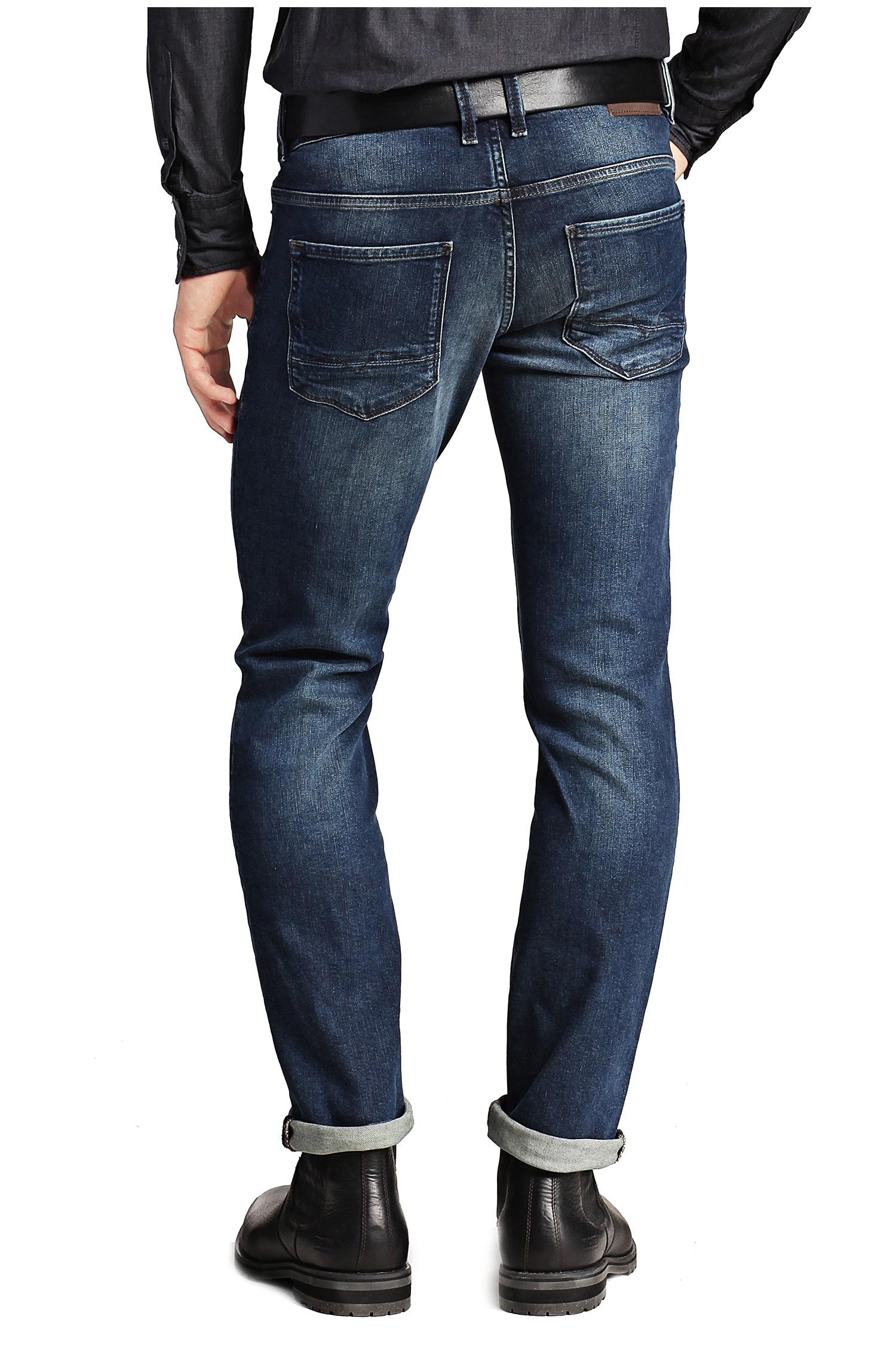 boss orange slim fit orange63 jeans in blue for men lyst. Black Bedroom Furniture Sets. Home Design Ideas
