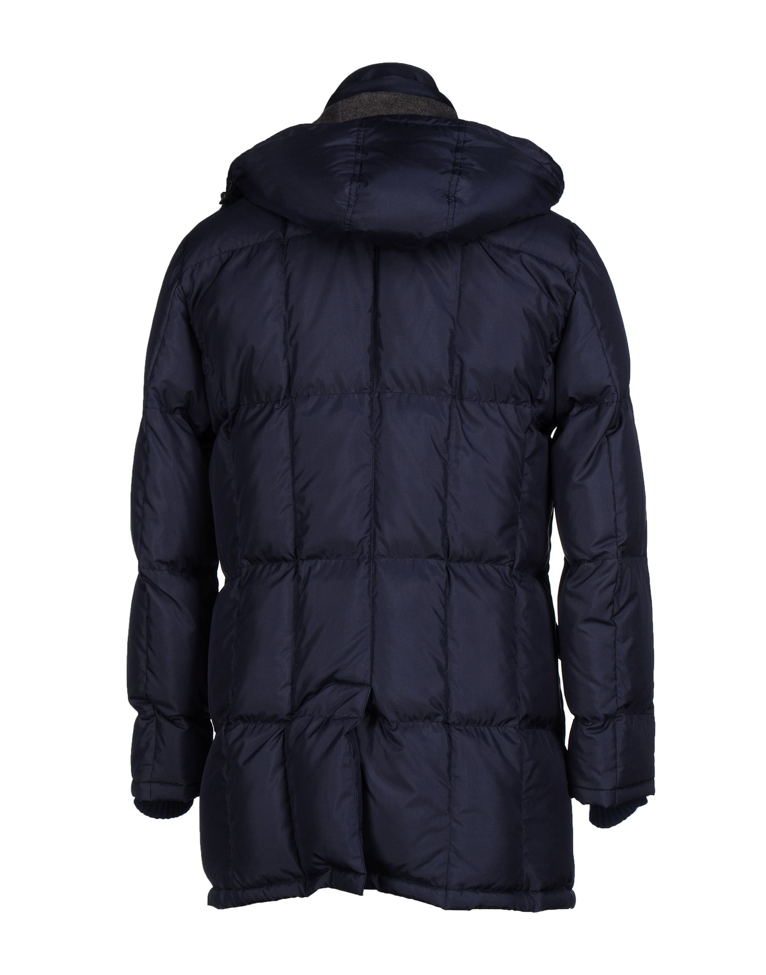Cesare Attolini Goose Down Jacket in Dark Blue (Blue) for Men