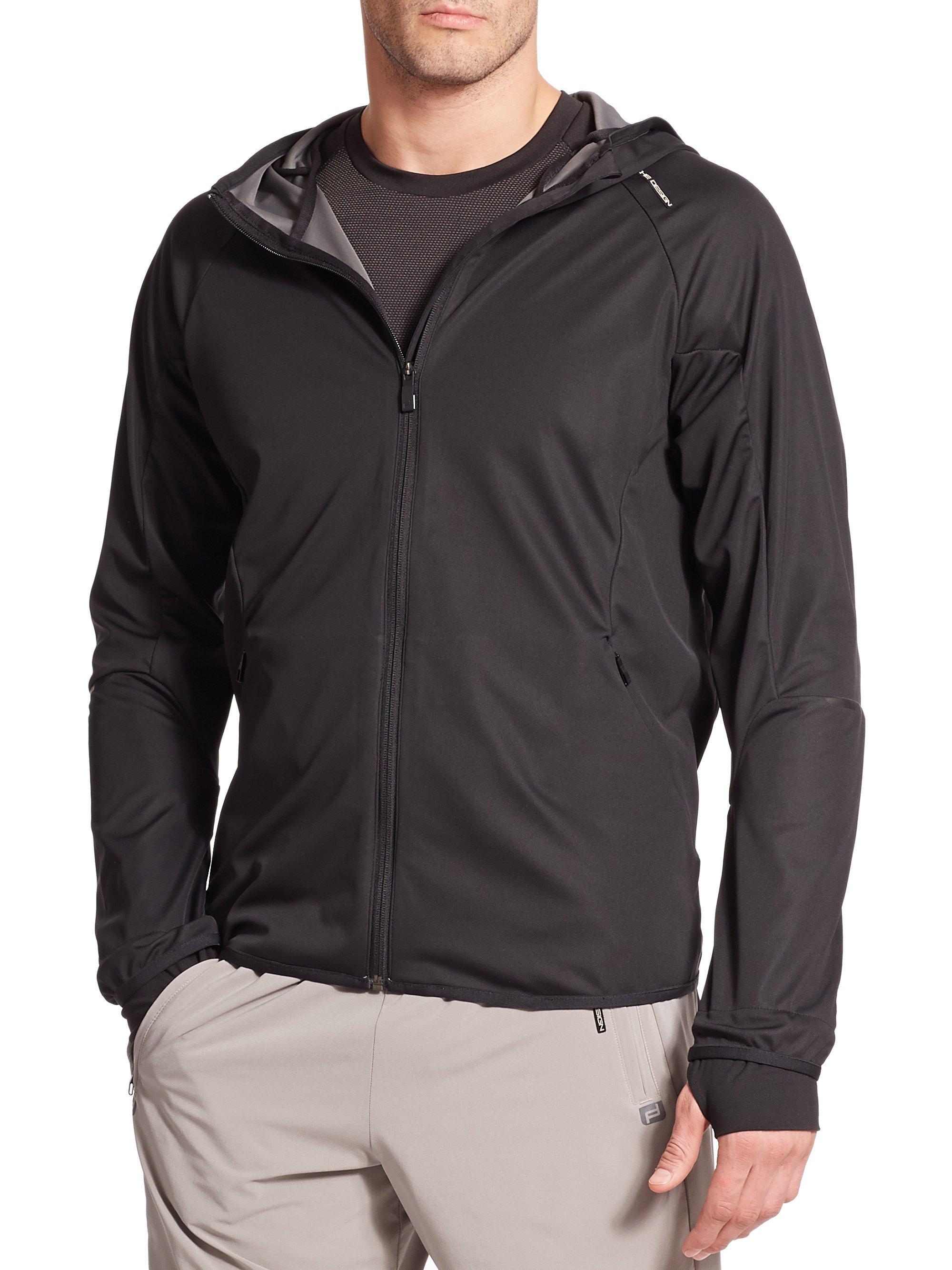 8f1e702a83 Porsche design Windbreaker Jacket in Black for Men
