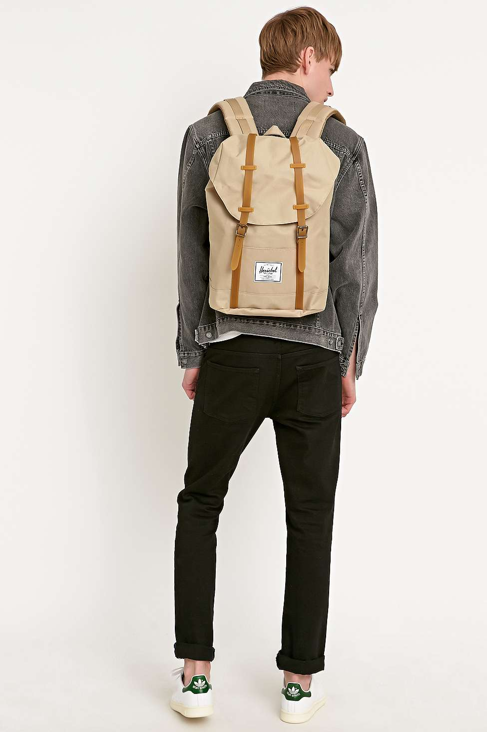 d0013124fc4d Herschel Supply Co. Retreat Backpack In Beige in Green for Men - Lyst