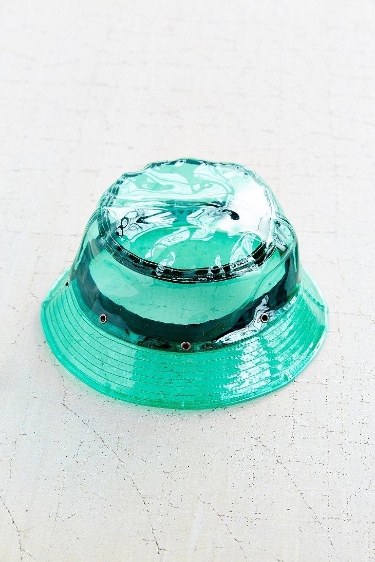 Lyst - Reason X Uo Clear Rain Bucket Hat in Blue 743d738b60bd