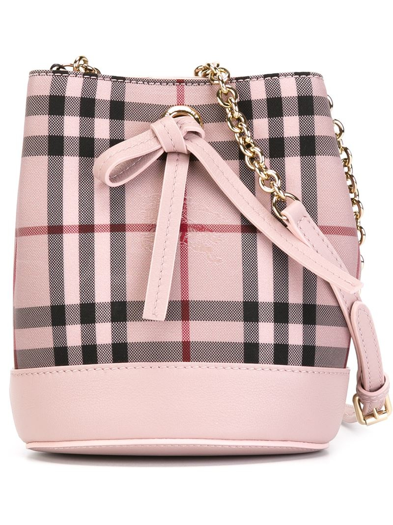 51c6681c1348 Burberry Pink Check Handbag - Handbag Photos Eleventyone.Org