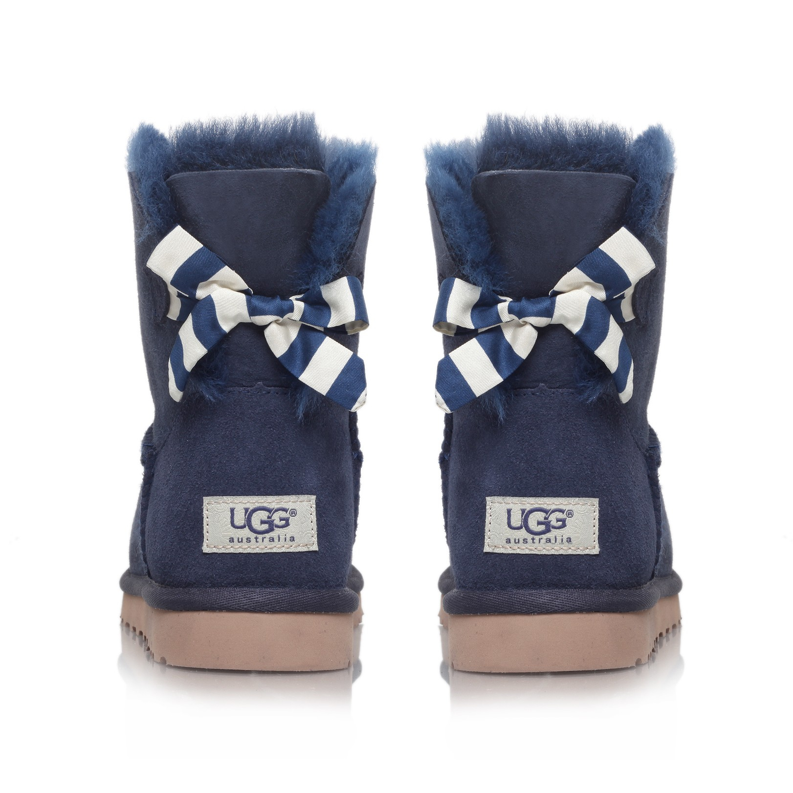 f37f301a56b Ugg Mini Bailey Bow Stripe Navy Twinface - cheap watches mgc-gas.com