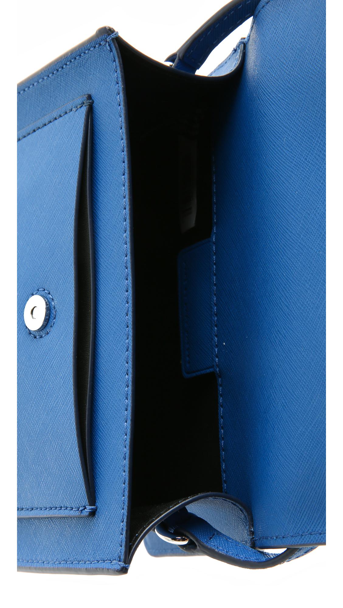 Marc By Marc Jacobs Metropoli Cross Body Bag - Salton Sea in Blue