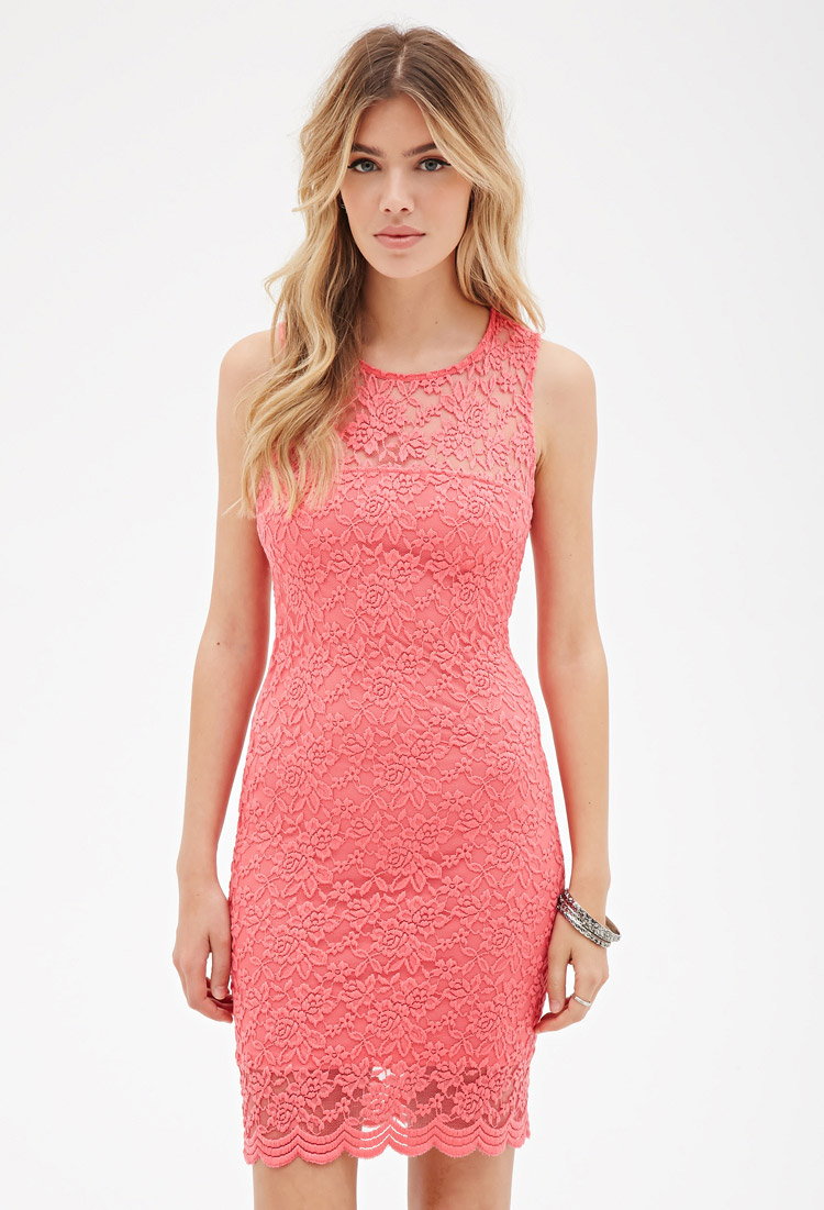 Cutouts lace bodycon dress forever 21 angeles box