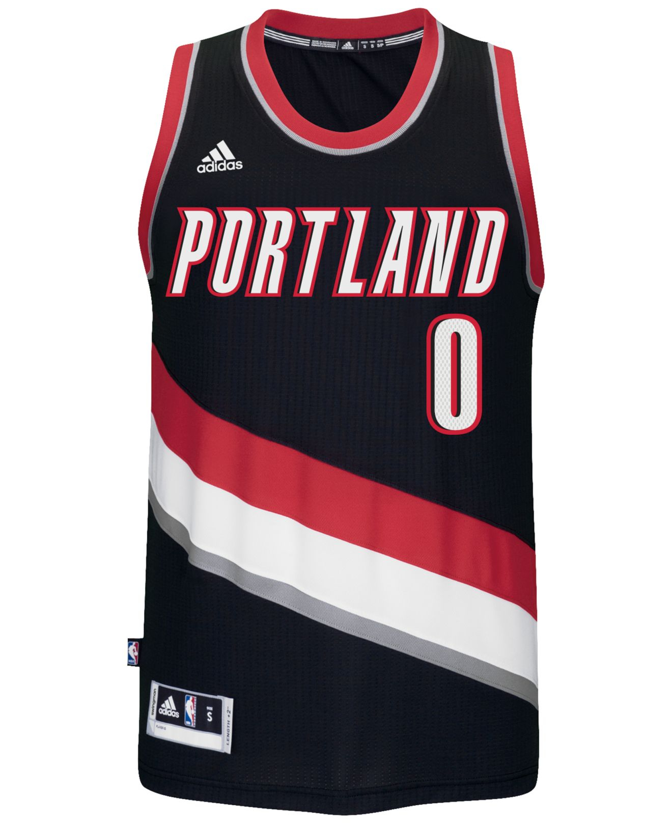 Portland Trail Blazers Jersey: Adidas Originals Men's Damian Lillard Portland Trail
